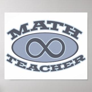数学の教師の無限 ポスター