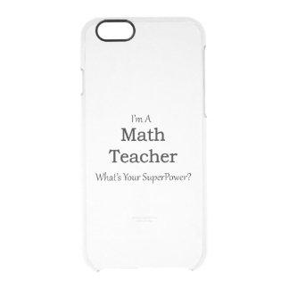 数学の教師 クリアiPhone 6/6Sケース