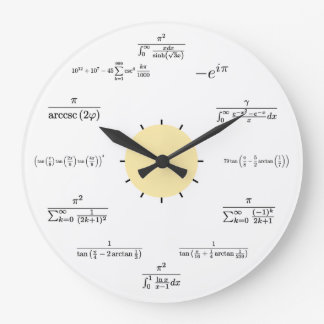 数学の柱時計 ラージ壁時計