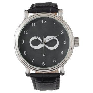数学の無限腕時計 腕時計