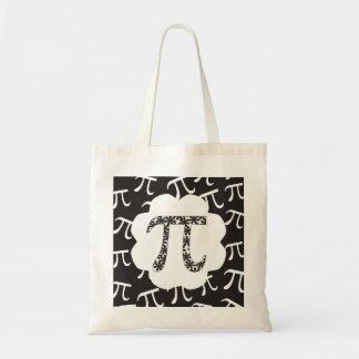 数学の花柄Pi トートバッグ