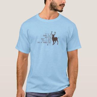 数学の衣服-冷たい™ Tシャツ