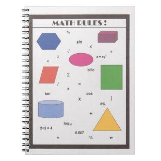 数学の規則! ノートブック