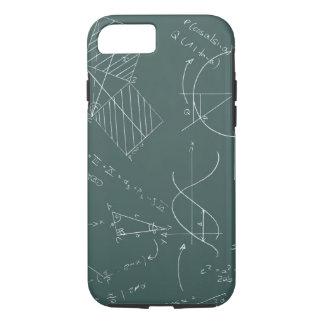 数学の黒板 iPhone 8/7ケース