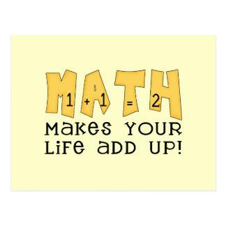 数学のTシャツおよびギフト ポストカード
