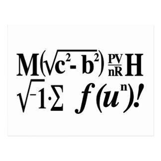 数学はおもしろいです! ポストカード