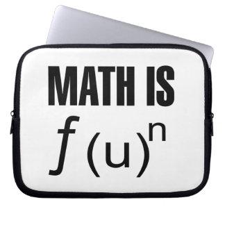 数学はおもしろいです ラップトップスリーブ