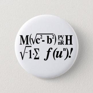 数学はおもしろいです! 5.7CM 丸型バッジ