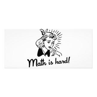 数学は堅いです カスタマイズラックカード