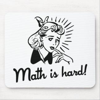 数学は堅いです マウスパッド