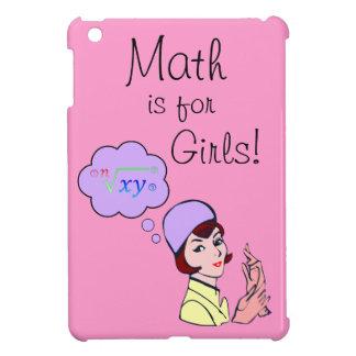 数学は女の子の小型Ipadの場合のためです iPad Miniケース