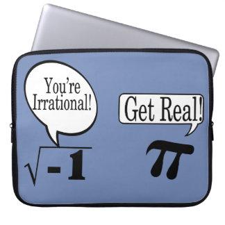 数学は理性的常にではないです ラップトップスリーブ
