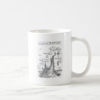 数学プロセス コーヒーマグカップ