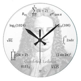 数学同等化および表示法 ラージ壁時計