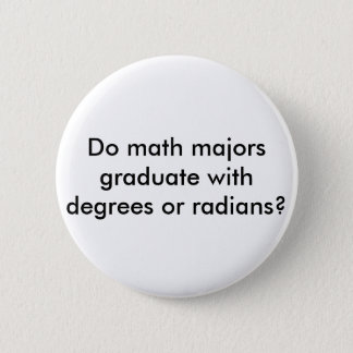 数学専攻学生ボタン 缶バッジ