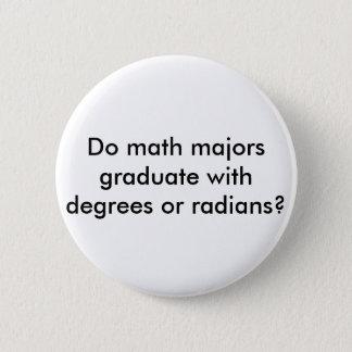 数学専攻学生ボタン 5.7CM 丸型バッジ