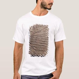 数学文字の14ラインが付いているタブレット Tシャツ