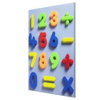 数学磁石 キャンバスプリント