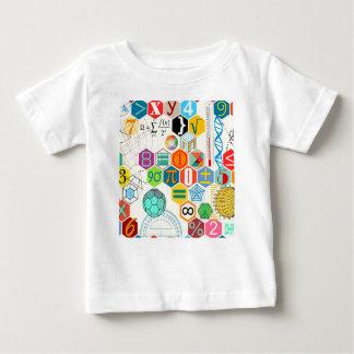 数学(白い) ベビーTシャツ
