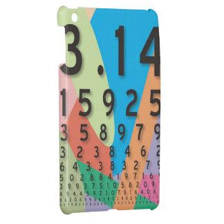 数学: Piの多彩な数学の定数 iPad Mini カバー