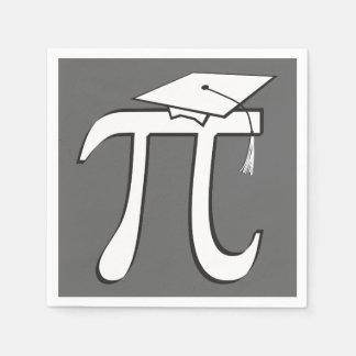 数学Piの卒業生-卒業パーティー スタンダードカクテルナプキン