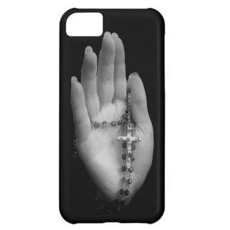 数珠のビーズが付いている手 iPhone5Cケース