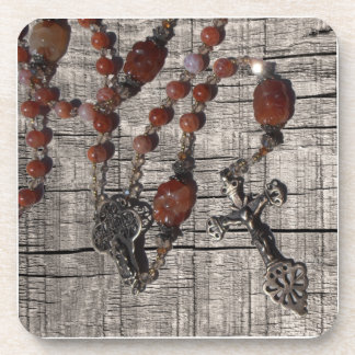 数珠はコースターに玉を付けます コースター