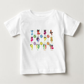 数 ベビーTシャツ