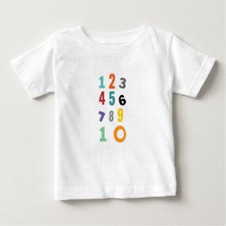 数、子供部屋数 ベビーTシャツ