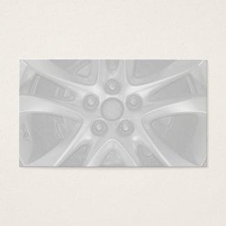 整備士車の縁および車輪の名刺 名刺