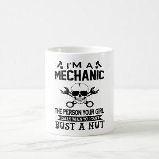 整備士-人あなたの女の子呼出し! コーヒーマグカップ
