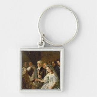 整理された結婚1862年 キーホルダー