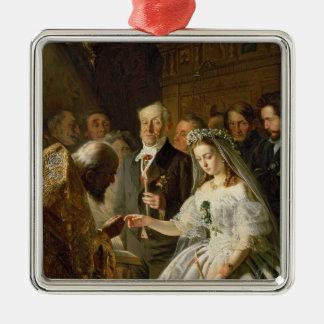 整理された結婚1862年 メタルオーナメント