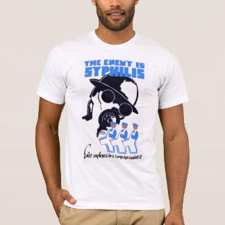 敵は梅毒です Tシャツ