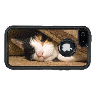 敷物の下のさらさ オッターボックスディフェンダーiPhoneケース