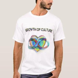 文化の成長 Tシャツ