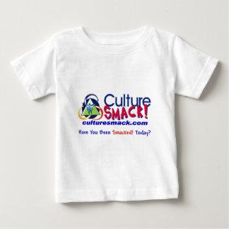 文化はZazzle 2を平手で打ちます ベビーTシャツ