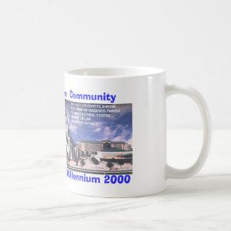 文化的な中心 コーヒーマグカップ