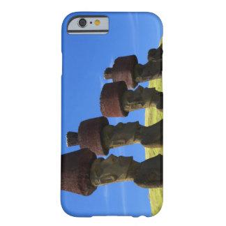 文化的な彫像、イースター島、ポリネシア BARELY THERE iPhone 6 ケース