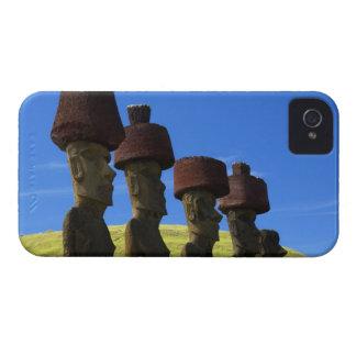 文化的な彫像、イースター島、ポリネシア Case-Mate iPhone 4 ケース
