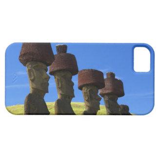 文化的な彫像、イースター島、ポリネシア iPhone SE/5/5s ケース