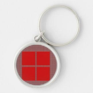 文字あなたの正方形のテンプレート キーホルダー