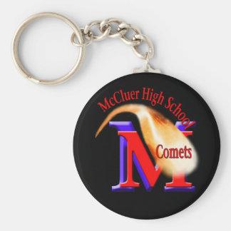 文字が付いているMcCluerの高等学校の彗星Keychain キーホルダー