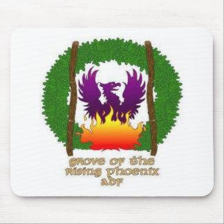 文字との果樹園のロゴ マウスパッド