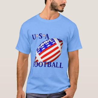 文字との米国のフットボール(2) Tシャツ