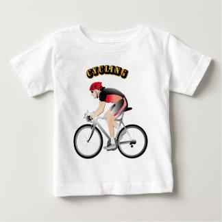 文字なしの循環 ベビーTシャツ