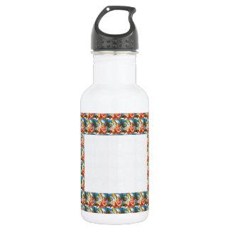 文字のイメージを加えて下さい: RADHA KRISHNA水晶白いSpac ウォーターボトル