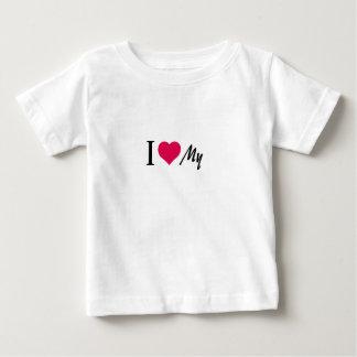 文字の情熱の服装 ベビーTシャツ