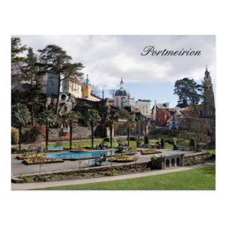 (文字をカスタマイズ) Portmeirionカード ポストカード