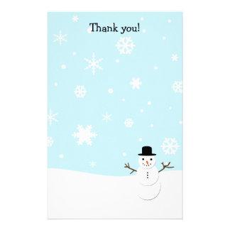 文字を入れます静止したクリスマスにありがとう 便箋
